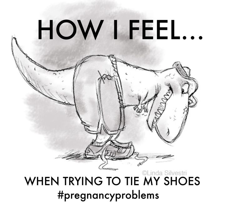 Tying your shoes when you're pregnant feels something like this! #pregnancy #pregnancyproblems