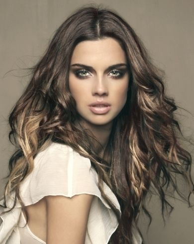 35 best brilliant brunette images on pinterest hairstyles make blonde highlight for dark brown hair pmusecretfo Gallery