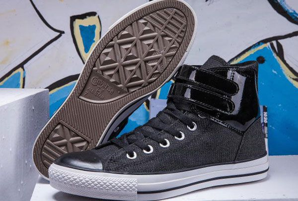 converse Newest Converse Double Leather Velcro Strap All
