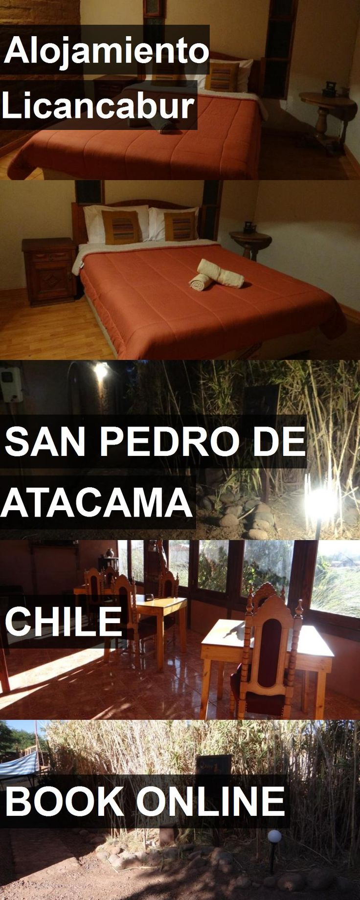 Hotel Alojamiento Licancabur in San Pedro De Atacama, Chile. For more information, photos, reviews and best prices please follow the link. #Chile #SanPedroDeAtacama #AlojamientoLicancabur #hotel #travel #vacation
