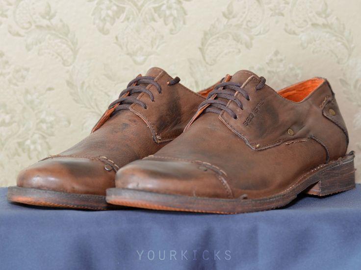 Повседневные туфли в стиле оксфорд BED:STU оригинал, модель Fiorentino Oxford. Цвет:дуб(Oak). Производство вручную Мексика. Куплены в США за 145 долларов + пересылка. Новая обувь в коробке.