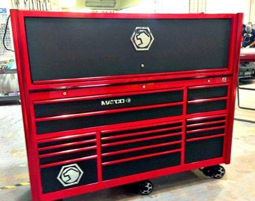 Toolbox Of The Day Fire Red Toolbox Of The Day