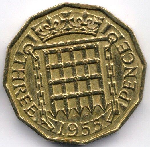 United Kingdom 3 Pence 1955 Veiling in de Decimaal,Brits,Munten,Munten & Banknota's Categorie op eBid België