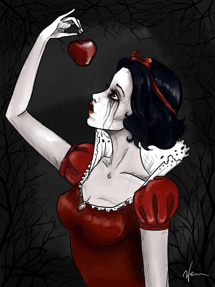snow white by ~BexHappy on deviantART