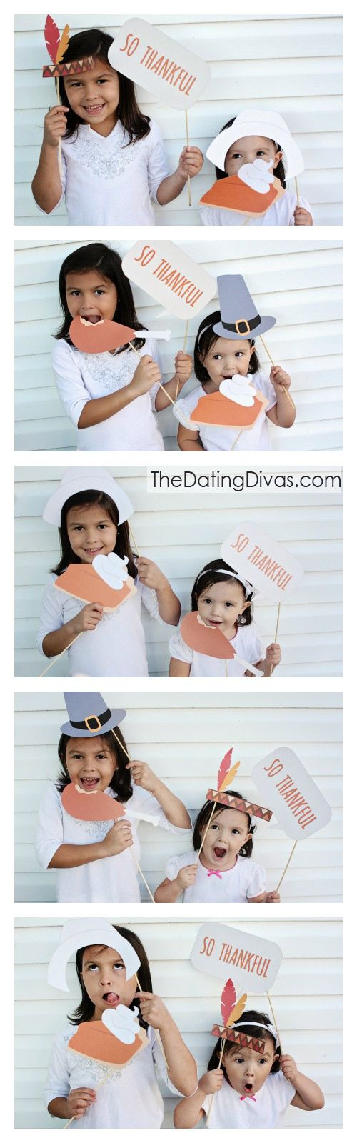 Want to snap some FUN pictures of the fam this Thanksgiving? Then hurry and grab these free Thanksgiving photo booth props. Time to make and capture some memories!