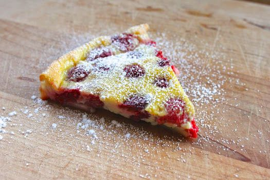 From Which Things Grow: Chew on This | Raspberry Custard Pie