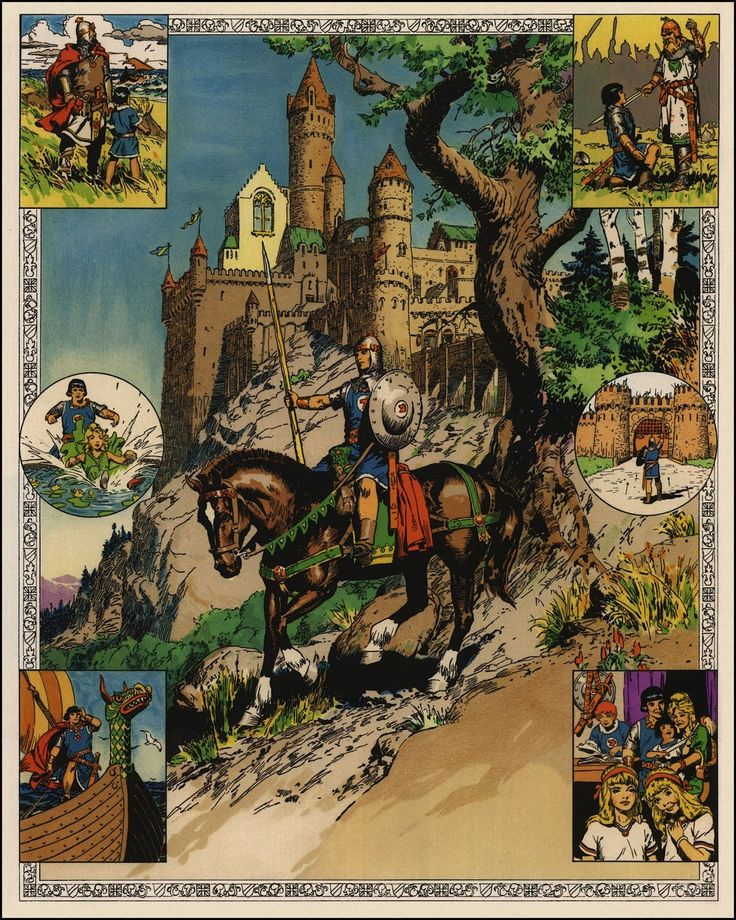 Valiant Free Comic Book Day: BRUDE'S WORLD : Prince Valiant By Hal Foster