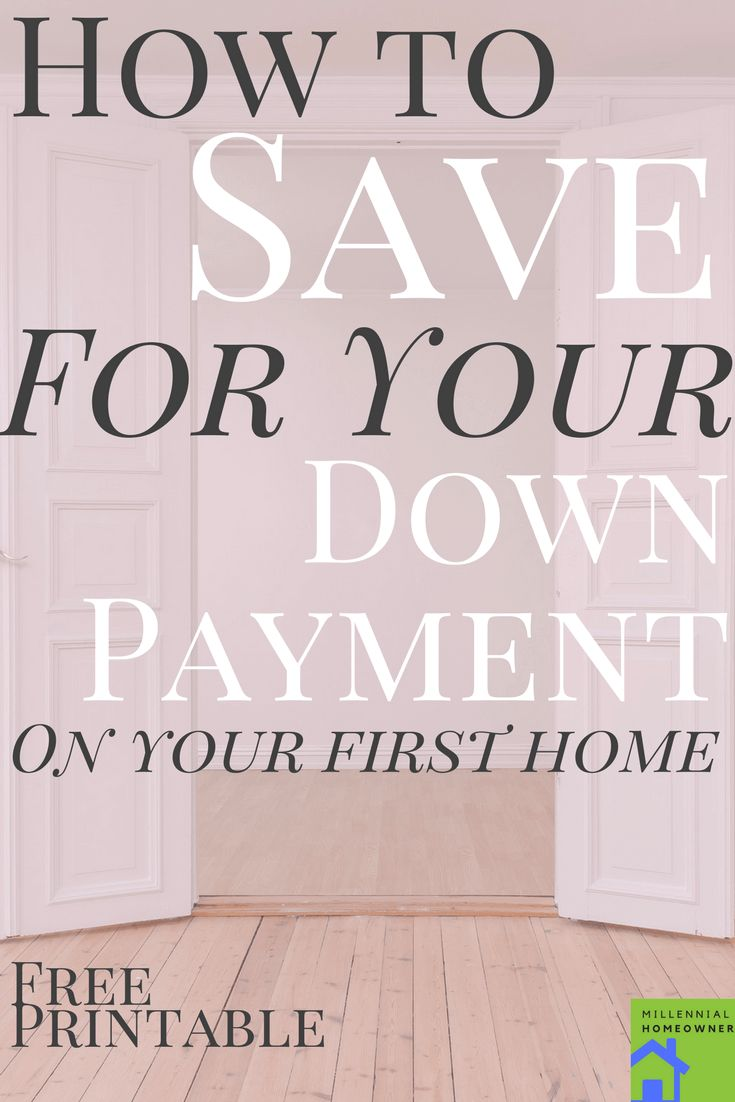 Great easy step by step advice to save money for your downpayment | Saving Money | Downpayment on Home | First Time Homebuyer |