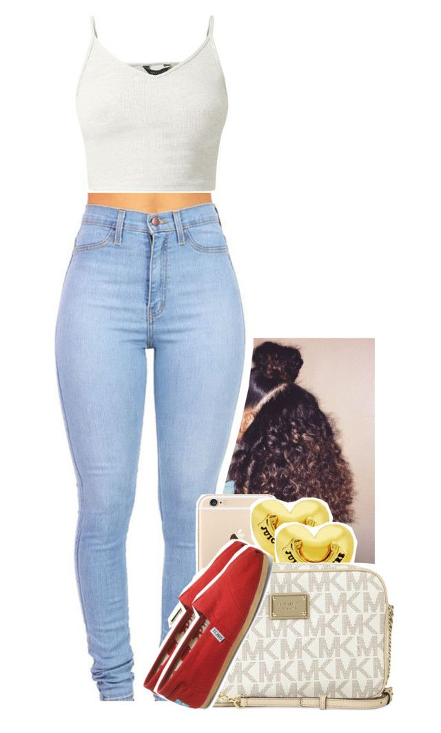 """""""Untitled #1102"""" by tonibalogni ❤ liked on Polyvore featuring Juicy Couture, Michael Kors and TOMS"""