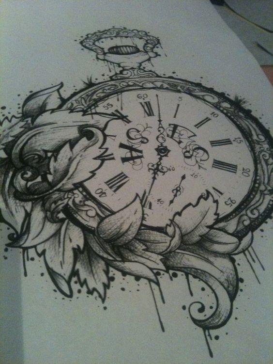 clock tattoos tattoos ️ a tattoo great tattoos tattoo pics of of ...