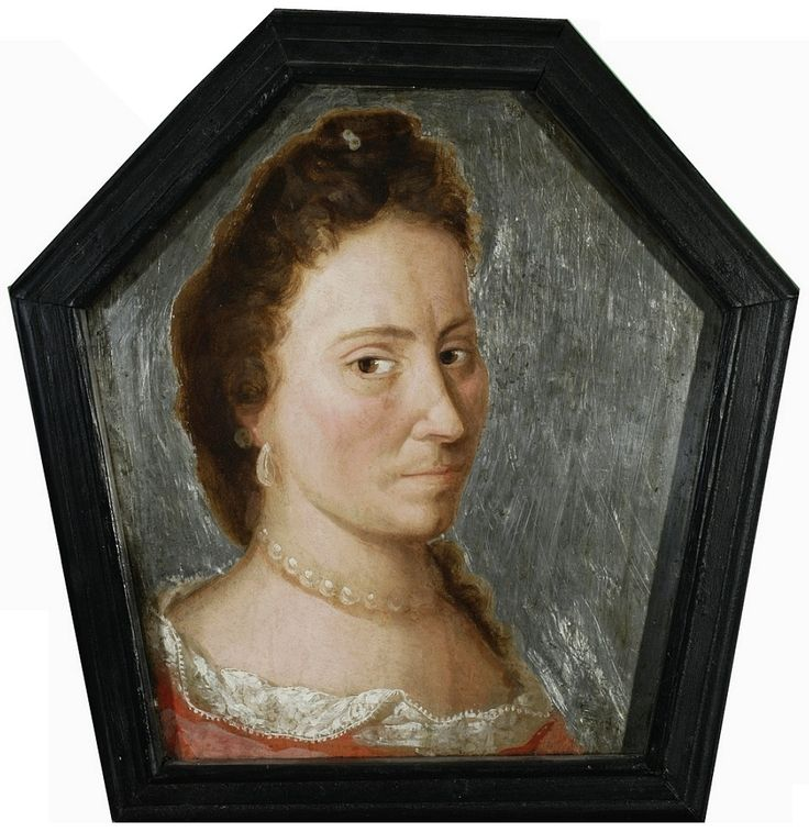 Coffin portrait of Teresa Bojanowska née Sokolnicka (1666-1700) by Anonymous from Greater Poland, ca. 1700 (PD-art/old), Muzeum Narodowe w Warszawie (MNW)