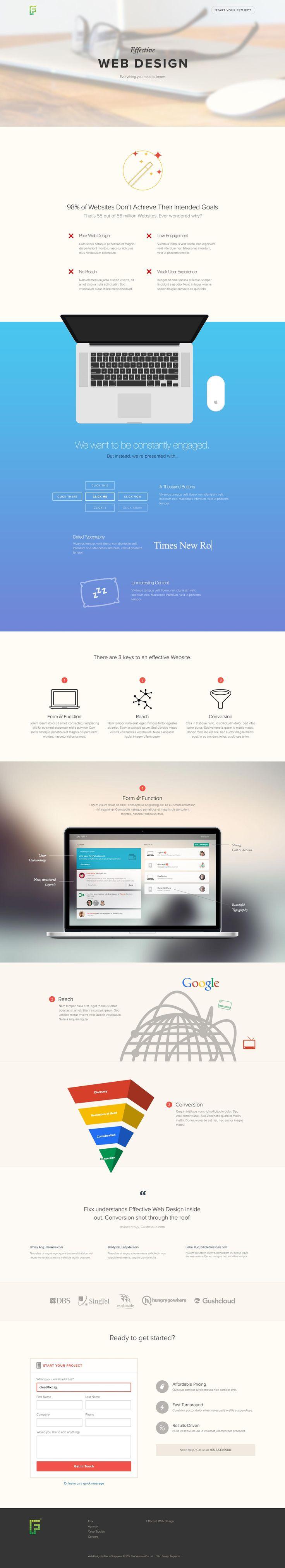 73-effective-web-design-full colorful modern web design website graphic color flat 3d ui ux graphics inspiration