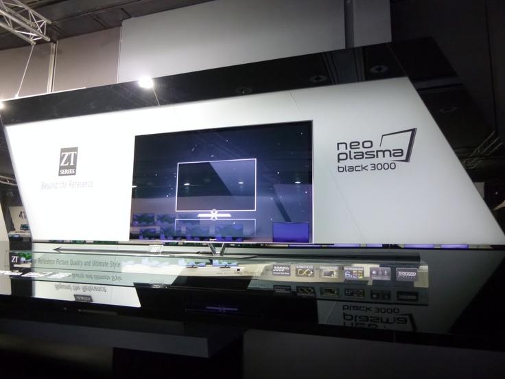 Panasonic ZT60 plasma TV - 60 inches of joy.