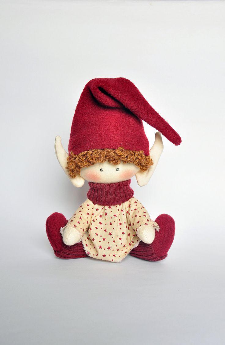 Рождественский эльф Рождественские Идеи Рождественский подарок текстиля по NilaDolss