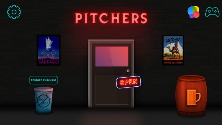 Become a legend of Tipsy Town with Pitchers
