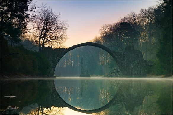 Rakotzbrücke Devil's Bridge – Gablenz, Germany | Atlas Obscura  http://www.atlasobscura.com/places/rakotzbrucke-devils-bridge?utm_source=Atlas+Obscura+Daily+Newsletter&utm_campaign=56af4f831a-Newsletter_11_14_2016&utm_medium=email&utm_term=0_f36db9c480-56af4f831a-63203845&ct=t(Newsletter_11_14_2016)&mc_cid=56af4f831a&mc_eid=bb8db3a6a5