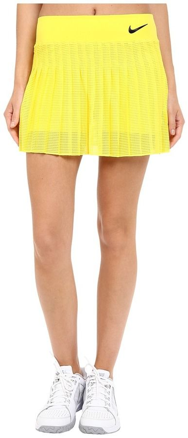 Nike Court Victory Premier Tennis Skirt, Rock, Nike, gelb, yellow, Tennis Fashion Women #tennis #fashion #sport #women #court #tennismode #mode #frauen #tennisoutfit #outfit #trendy #nike #reebok #nikecourt #adidas #newbalance - trendy Tennis Outfits for her - Tennis Outfits für Sie. Tennismode, sportliche Mode fürs Tennisspielen.
