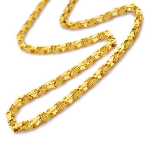 "Cheap necklace religious, Buy Quality necklace panda directly from China necklace lapis Suppliers:  PRODUCT ID: N142 METAL: Stainless Steel COLOR: Gold  SIZE: L: 22"" W: 4mm"