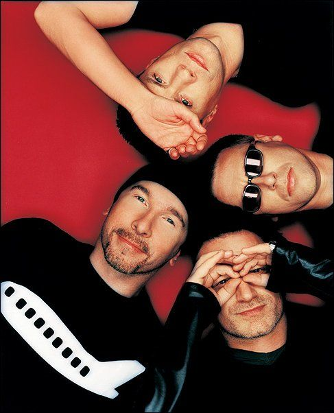 U2, my favorite band. Red, my favorite color.