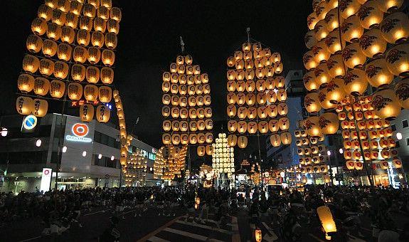 Kanto festival - Akita,Japan