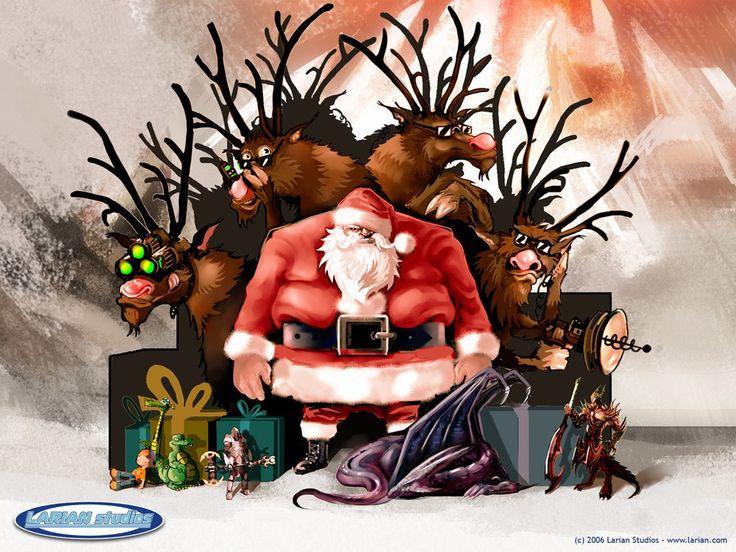 Bad Mean Santa