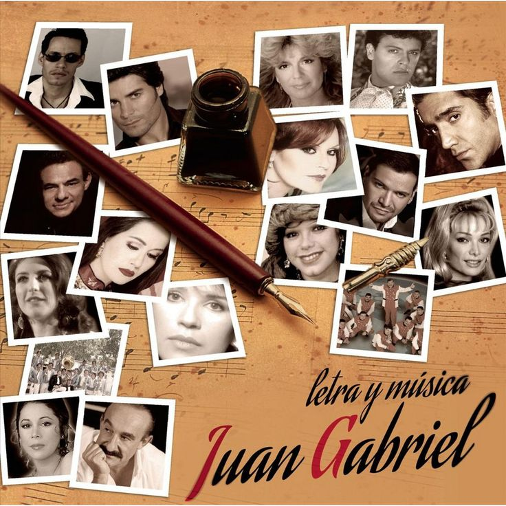 Various Artists - Letra y Musica: Juan Gabriel (CD)