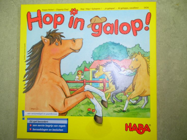 Spel haba: hop in galop!