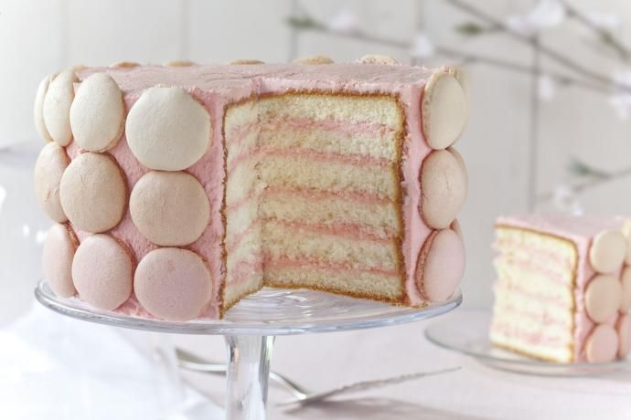Tort makaronikowy #macaroons #recipe