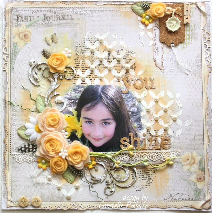 You Shine **Maja Desing & My Little Yellow Bicycle!** - Scrapbook.com by Gabriellep.