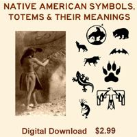 Native American Symbols, Totems & Their Meanings Digital Download