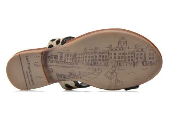 Sandales et nu-pieds Bengali Les Tropéziennes par M Belarbi vue bas / vue portée sac