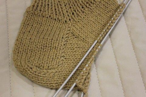 Вязание носков с прямой пяткой - crafty-box.com