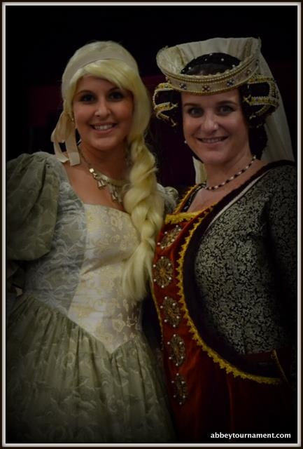 There were fabulous costumes at the 2012 Abbey Medieval banquet!  Doesn't this make you want to come next year?