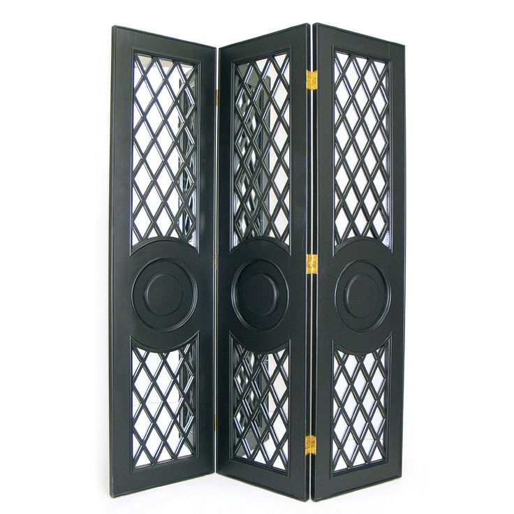 Room Dividers.com Part - 28: Wayborn 2354 Mirror Screen Room Divider | Www.iroomdividers.com