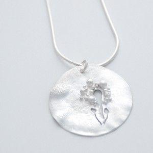 Silver necklace by Rikke Kjelgaard