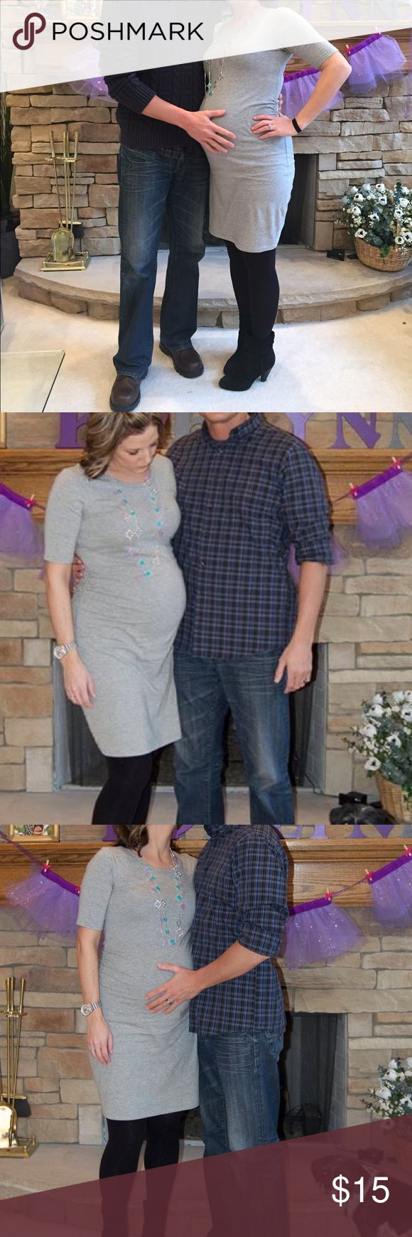 Old navy maternity dress Super cute light Old Navy maternity dress. Perfect for…