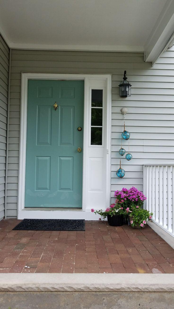 Mermaid Net By Behr Color Of My Front Door Painted