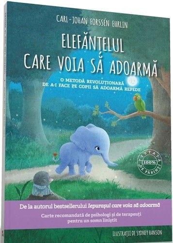 - Elefantelul care voia sa adoarma -