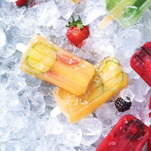 If you're looking for more ways to get Pimms into your life this Summer try this recipe for a Pimms-icle - a Pimms ice lolly.