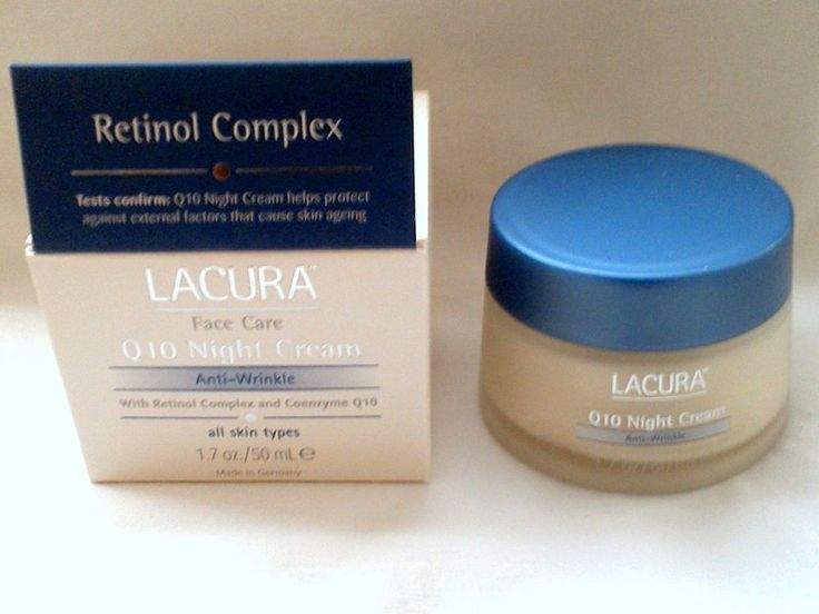 Lacura Face Cream Anti-Wrinkle with Coenzyme Q10 and Retinol Complex #Lacura