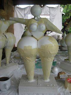 Bolletje Lucky: Dikke dames....workshop
