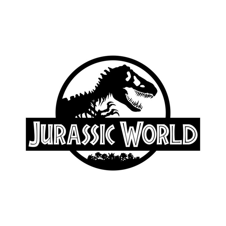 Jurassic World The Movie Original Coloring Logo Kids