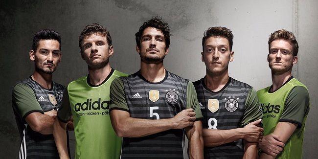 Adidas opublikował nowe stroje na Mistrzostwa Europy 2016 • Niemcy, Hiszpania, Belgia, Szwecja, Rosja, Irlandia Północna • Zobacz >> #euro #euro2016 #adidas #soccer #sports #football #pilkanozna