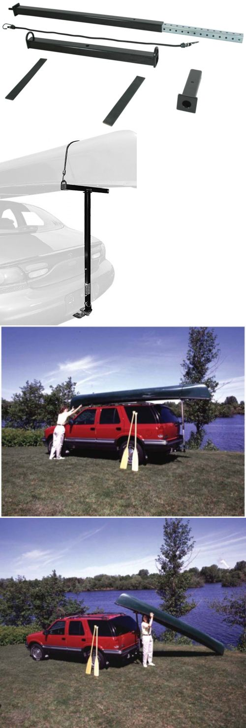 Other Kayak Canoe and Rafting 36123: New Canoe Kayak Roof Top Rack Loader Car Suv Van Carrier Mount Travel Camping -> BUY IT NOW ONLY: $54.28 on eBay!
