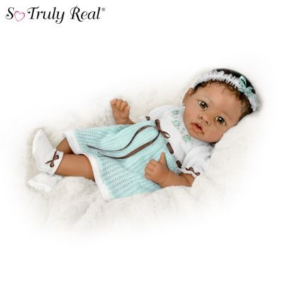 Alicias Gentle Touch Realistic Interactive Baby Doll  from: ashtondrake.com