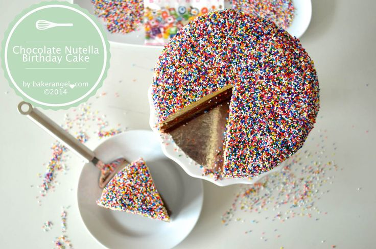 Nutella Birthday Cake Pinterest