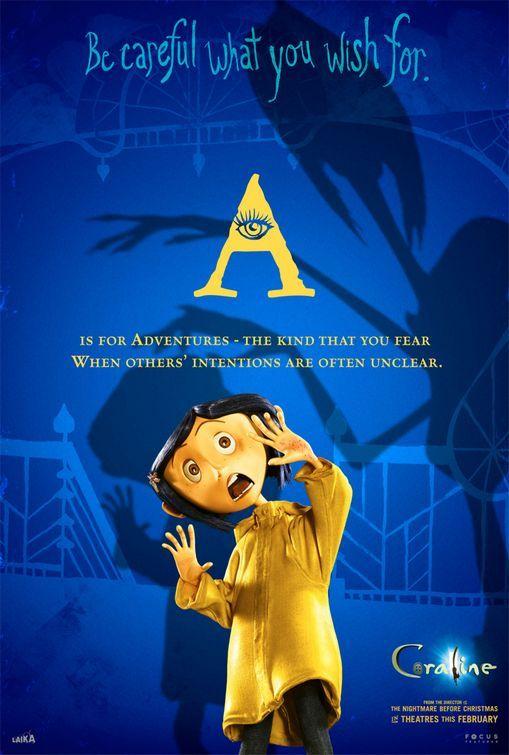 コララインとボタンの魔女映画のポスター