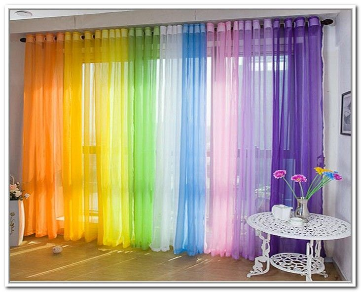 Multi Colored Sheer Curtains Christmas Gifts Pinterest