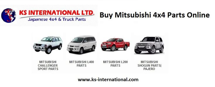 KS International Ltd. supplies a wide variety of #Mitsubishi_4x4_parts for various #Mitsubishi 4x4 makes and models. We also stock and supplies other #Japanese_4x4_parts and accessories, including Nissan 4x4 parts, Mazda 4x4 parts, #Toyota_4x4_parts, and #Isuzu_4x4_parts.