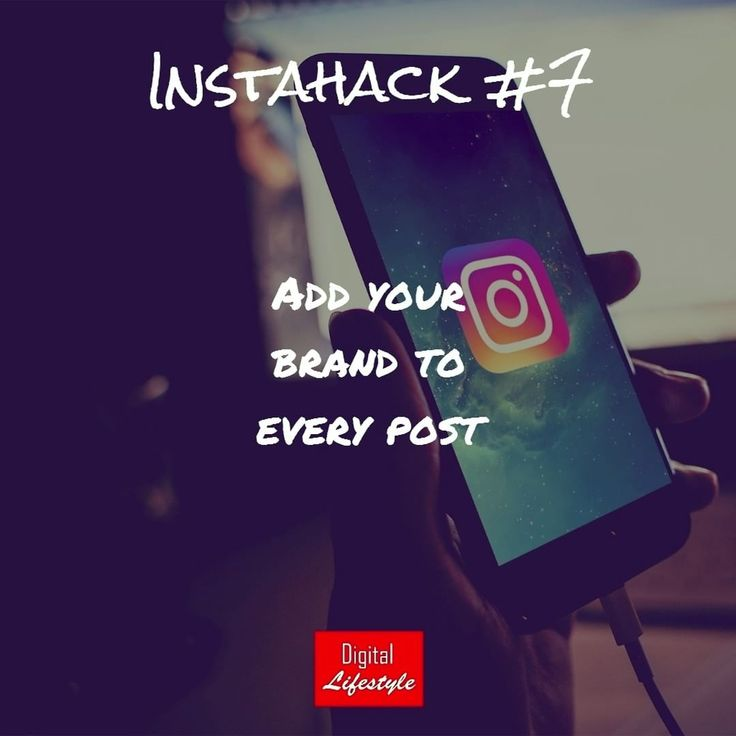 Always add your branding and logo to your posts 💢🔥👊